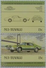 1966 OLDSMOBILE TORONADO Car Stamps (Leaders of the World / Auto 100)