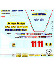 1/12 FERRARI 312T4 DIDIER PIRONI REPLACEMENT DECAL for TAMIYA