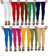 Women Churidaar Legging Indian Cotton Stretch Lycra Yoga Pants WholeSale Lot 10