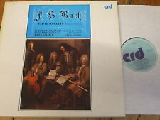 CRD 1014/5 Bach Flute Sonatas / Preston / Pinnock / Savall 2 LP box