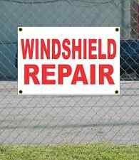2x3 WINDSHIELD REPAIR Red & White Banner Sign NEW Discount Size Price FREE SHIP
