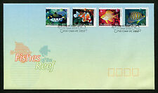 2010 Fishes of the Reef S/A FDC First Day Cover Stamps Australia