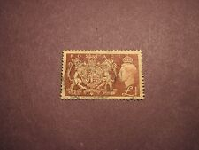 Great Britain Stamp Scott# 289 King George V Royal Arms 1951 L38