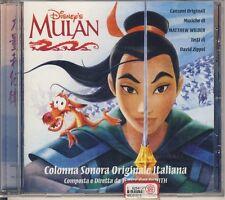 MULAN colonna sonora originale Italiana - Walt Disney - WDR 492967 2