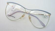 Lacoste übergroße Damenfassung Oversizedbrille hellblau-mint Rarität GR:M Boho
