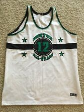 Mens Headgear Boston Massachusetts Official Street Ball All Stars #12 Jersey
