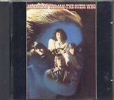 THE GUESS WHO - American woman - CD MADE IN GERMANY ND 83673 LIKE NEW