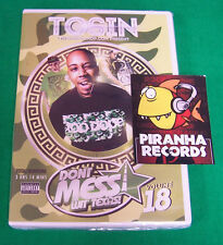 Tosin Don't Mess Wit Texas Vol 18 Music Video DVD NEW Trae Keke Piranha Records