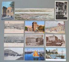 Friuli Venezia - Giulia. CARTOLINE D'EPOCA. TRIESTE. Insieme di 12 cartoline...