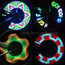 32 LED Colorful Rainbow Wheel Signal Lights Lamp For Bike Bicycle Cycling HOT