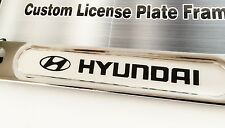 Chrome License Plate Frame for Hyundai Elantra Genesis Sonata Tucson Veloster