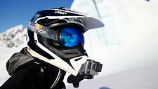 Dango Gopro Snow Mobile Helmet Gripper Clip Mount Holder Go Pro