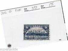"""1933 Canada #202 Θ used VF, slogan cancel  """"Our Friend"""""""