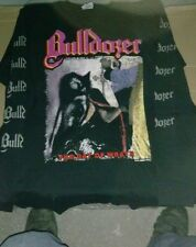 BULLDOZER-SHIRT THE DAY OF WRATH SAMHAIN THE COURIER SADISTIC INTENT SADISM