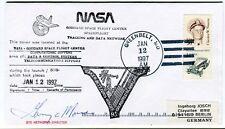 1997 NASA Goddard Space Flight Center Tracking Data Network Greenbelt USA SIGNED