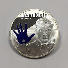 FRANCE - 10 EURO - 2012 - Pièce de Monnaie en Argent // QUALITE: BE - YVES KLEIN