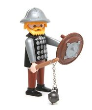 Playmobil Figure Castle Knight w/ Helmet Flail Shield 3667