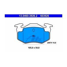 ATE 603926 Bremsbelagsatz, Scheibenbremse  13.0460-3926.2  Hinten