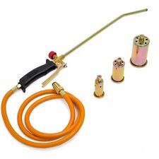 New Portable Propane Weed Torch Burner Fire Starter Ice Melter Melting w Nozzles
