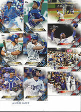 2016 Topps 1&2 Kansas City Royals Team Set Cain Perez Alex Gordon Eric Hosmer 30
