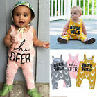 Soft Cotton Baby Clothes Toddler Kids Boy Girls Romper Bodysuit Jumpsuit Outfits