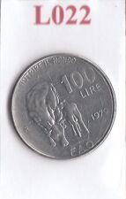 L022 Moneta Coin ITALIA Repubblica Italiana 100 Lire 1979 Comm. FAO 1° Tipo