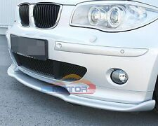 UNPAINTED H Style FRONT LIP SPOILER For BMW E87 E81 HATCHBACK 1-SERIES B049F