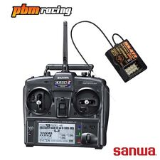 Sanwa Exzes ZZ 2.4 Ghz RC Digital Transmitter + RX-4472 Receiver - SA101A32071A