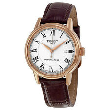 New Tissot T-Classic Carson Automatic Rose-Tone Men's Watch T0854073601300