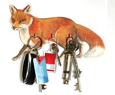 Fox Hunting Theme  Key Rack or Lead Hanger Hand Made in UK Ideal Gift