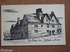 R&L Postcard: The Falcon Inn, Bidford on Avon, Pen & Ink Printed Card