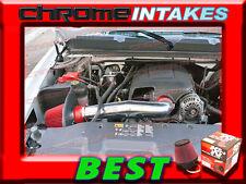 K&N+RED 09-14 CHEVY SUBURBAN/TAHOE/GMC YUKON XL/DENALI 1500 COLD AIR INTAKE KIT