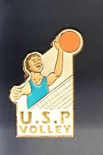 RARE PINS PIN'S .. SPORT VOLLEY BALL TEAM CLUB USP PONT ST MARTIN 44 ~BB