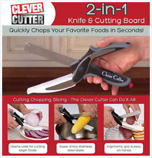 Clever Cutter Pro Cutting Board and Knife In One As Seen on TV free shipping