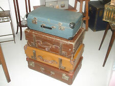 Selection of Vintage Suitcases - (for sale individually)