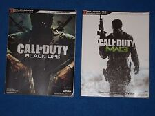 2 PS3 Call of Duty Strategy Books, Black Ops and MW3 (Modern Warfare 3)