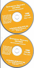 ECS PC Emergency Recovery CD (7240M 090-20-2002 driver software)