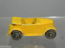 VINTAGE DINKY TOYS MODEL  No.35d  AUSTIN 7 OPEN TOURER  (Yellow / Tan Version)