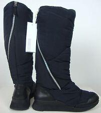 ADIDAS SILVER ZANSAR FLAT Damen Stiefel Schaftstiefel Boots Schwarz Gr.39,5 NEU