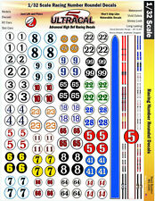 MG3300 - 1/32 UltraCal High Def Decals Roundels Fit Fly, Eldon, MMRC Slot Cars