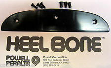 Powell Peralta BLACK Skateboard Old School HEELBONE HEEL BONE Bones Tail Part
