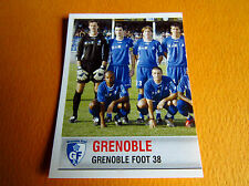 N°503 EQUIPE TEAM PART 1 GRENOBLE GF 38 PANINI FOOTBALL FOOT 2007 2006-2007