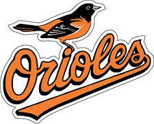 "Baltimore Orioles  Baseball MLB Bumper sticker, wall, vinyl, bumper 5""x 4"""