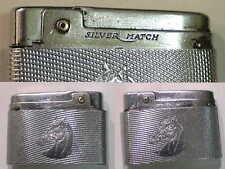 Briquet Ancien - Silver Match Compound - Vintage gas Lighter Feuerzeug Accendino