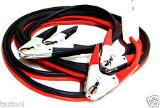 20 FT 2 Gauge Booster Cable Jumping Cables Emergency Jump start H D Clamps