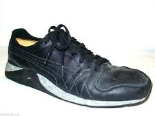 PUMA URBAN MOBILITY SZ 12 M BLACK LEATHER CASUAL FASHION TENNIS SHOES