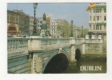 Dublin O'Connell Bridge River Liffey Ireland Postcard 988a