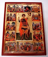 El santo Georg icono Saint George ICONE Icon ICONE Georgios Orthodox icoon