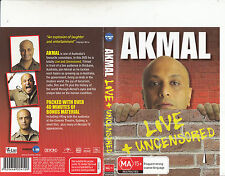 Akmal-Live + Uncensored-Comedy-DVD