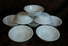 8 Corelle by Corning Sandstone Bowls Soup Cereal Lot Tan Beige